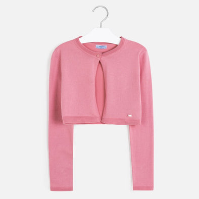 Cardigan Basic Rosa | MAYORAL | RocketBaby.it