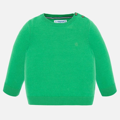 Maglione in Cotone Basic Menta | MAYORAL | RocketBaby.it