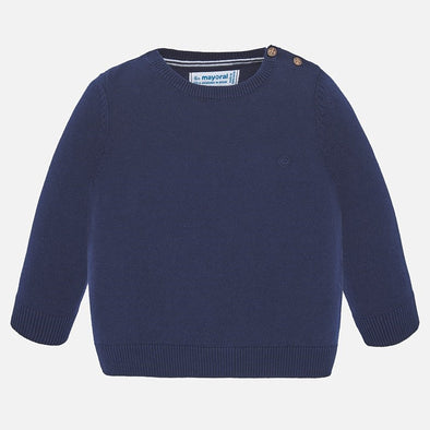 Maglione in Cotone Basic Marino | MAYORAL | RocketBaby.it