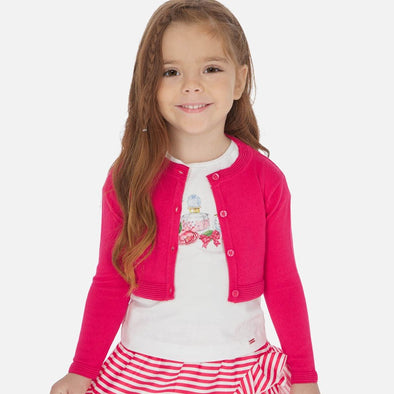Cardigan Basic Fragola | MAYORAL | RocketBaby.it