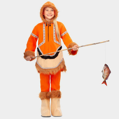 Costume Travestimento Eschimese 5-6 Anni | MOM FUN COMPANY | RocketBaby.it