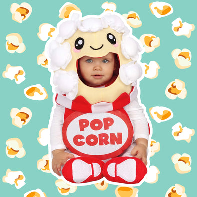 Costume Travestimento Balloon Popcorn