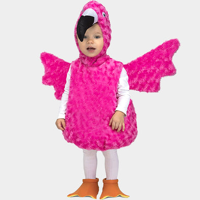 Costume Travestimento Fenicottero Peluche | MOM FUN COMPANY | RocketBaby.it