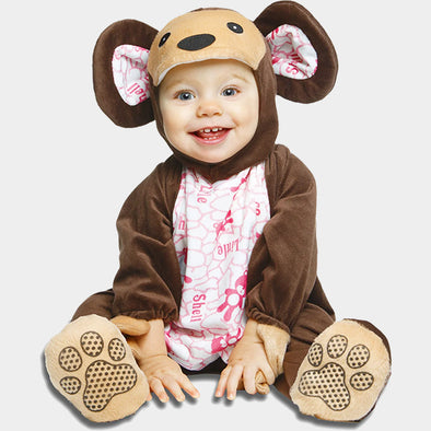 Costume Travestimento Orsetto Apine 7-12 Mesi | MOM FUN COMPANY | RocketBaby.it