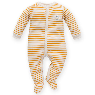 Tuta Intera con Piedini Nice Day Yellow Stripes | PINOKIO | RocketBaby.it