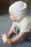 Cappello In Cotone Ecru | WOOLY ORGANIC | RocketBaby.it