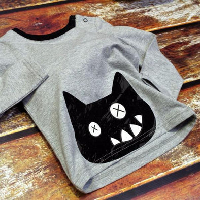 Maglia Crazy Cat | BLADE&ROSE | RocketBaby.it