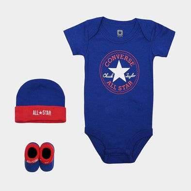 Set Regalo Converse Body Blue
