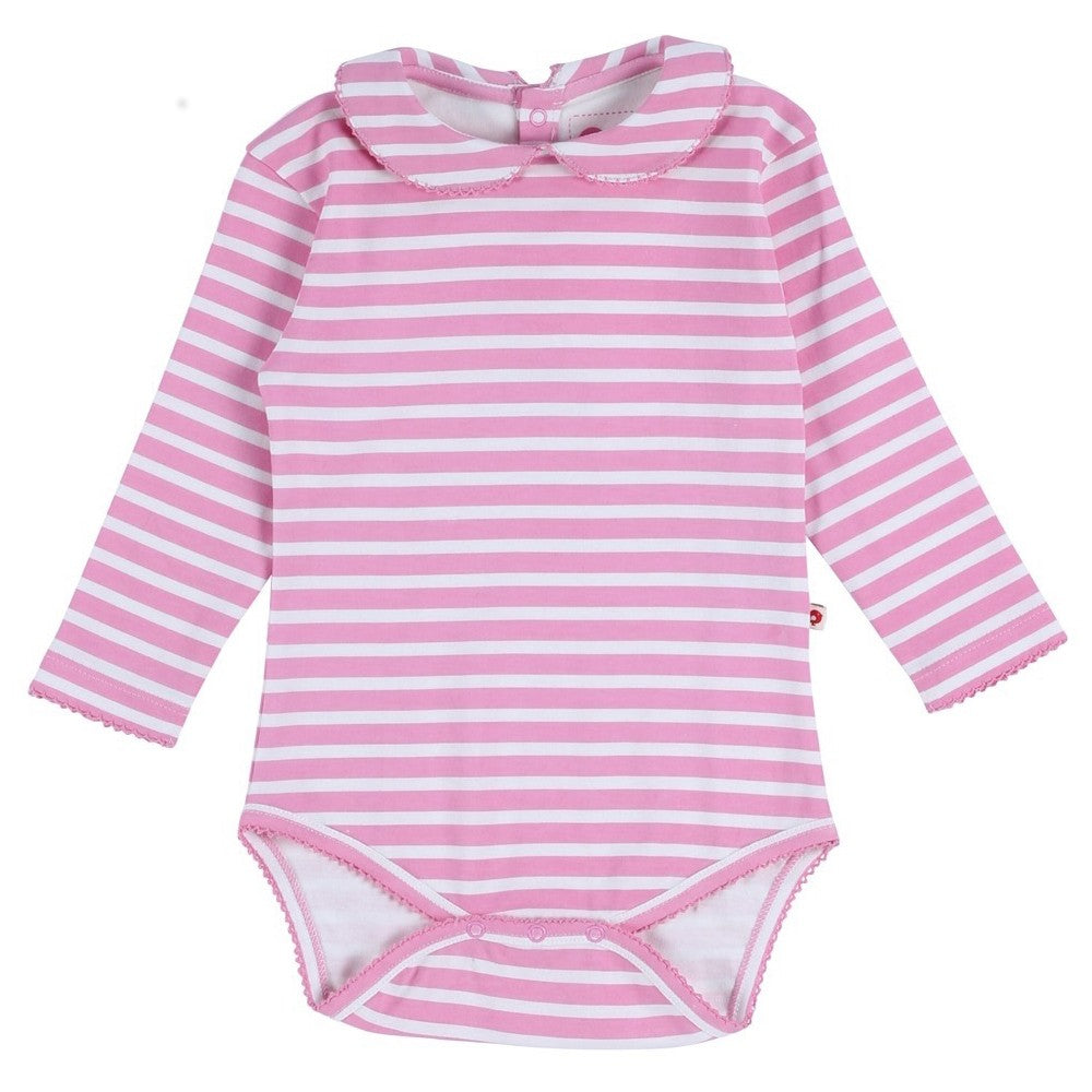 Body Pink Stripe | PICCALILLY | RocketBaby.it