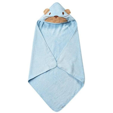 Accappatoio Animaletto Lightblue | PIPPI | RocketBaby.it