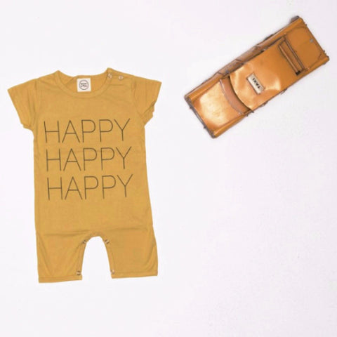 Tutina Intera a Maniche Corte Happy | MIAMI KIDS | RocketBaby.it