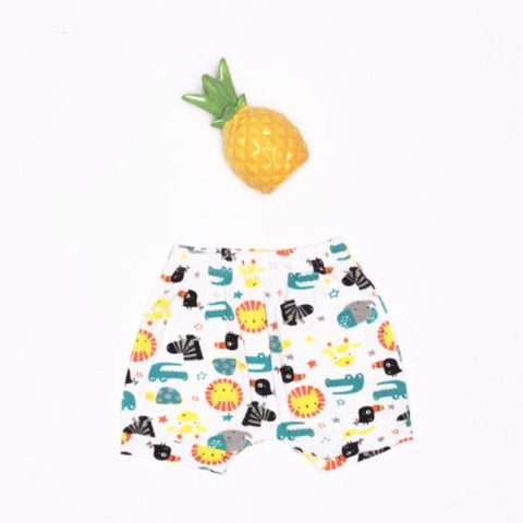 Pantaloni Corti Animali della Savana | MIAMI KIDS | RocketBaby.it