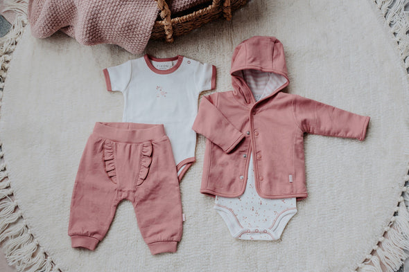 Cardigan Rervesibile Dusty Rose