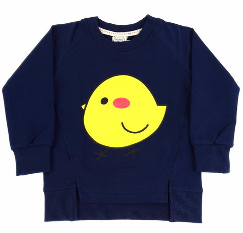 Felpa Pulcino Navy - MIAMI KIDS - RocketBaby.it - RocketBaby