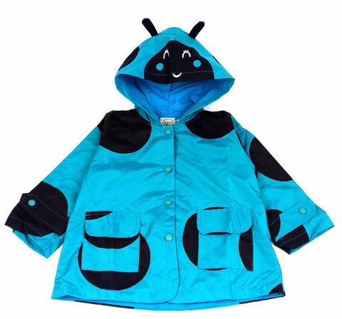 Cerata Impermeabile Coccinella Blu - MIAMI KIDS - RocketBaby.it - RocketBaby