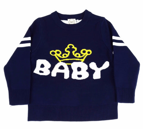 Maglione Baby King Navy