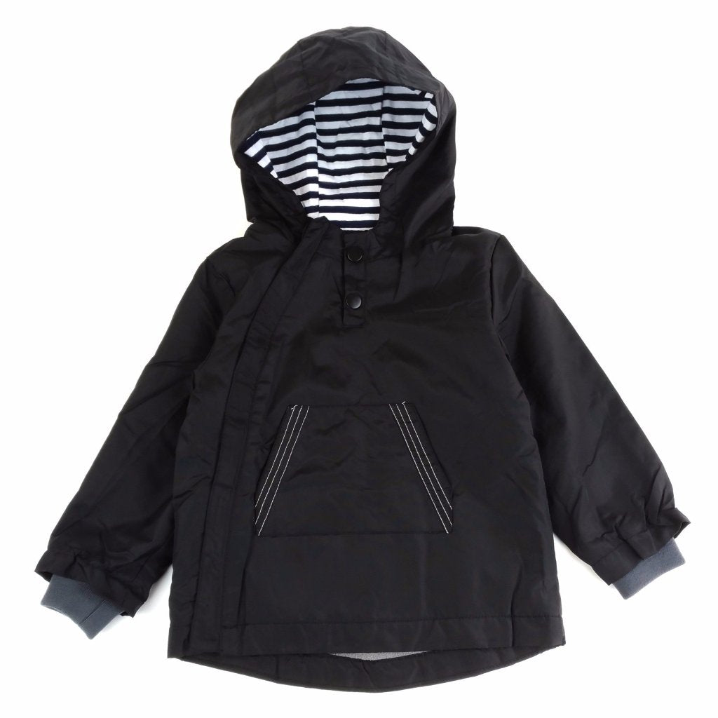 Giacca a Vento Basic Nero | MIAMI KIDS | RocketBaby.it