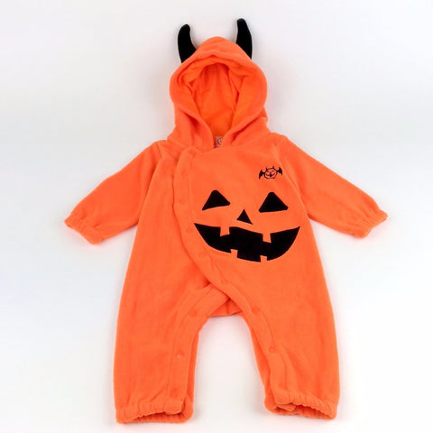 Tutina Intera a Maniche Lunghe Zucca Halloween | MIAMI KIDS | RocketBaby.it