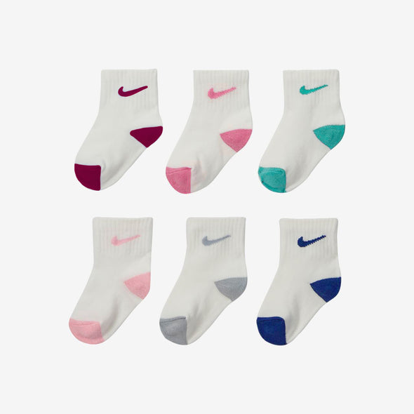 Set da 6 Calze Nike Pop Color Ankle Pink