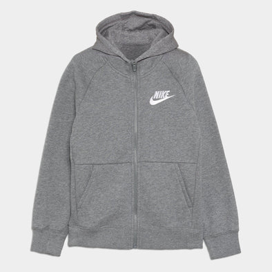 Felpa con Cappuccio Nike Nkg Carbon Heather White