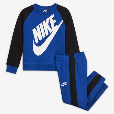 Completo Tuta Nike Oversized Futura Crew Set Game Royal
