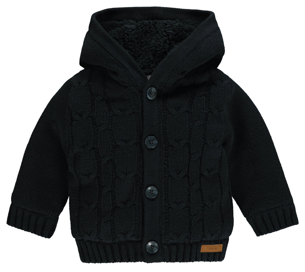 Cardigan Warsaw Dark Blue | NOPPIES | RocketBaby.it