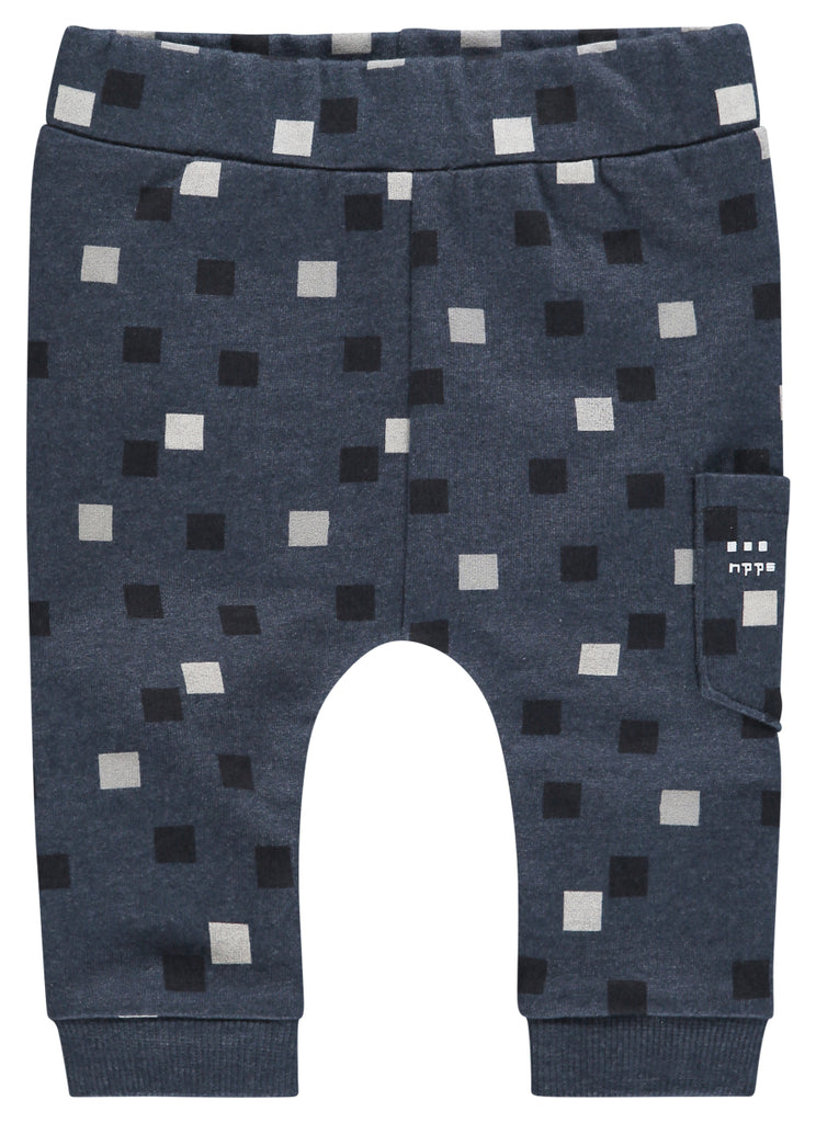 Pantaloni Waipio Navy Melange | NOPPIES | RocketBaby.it