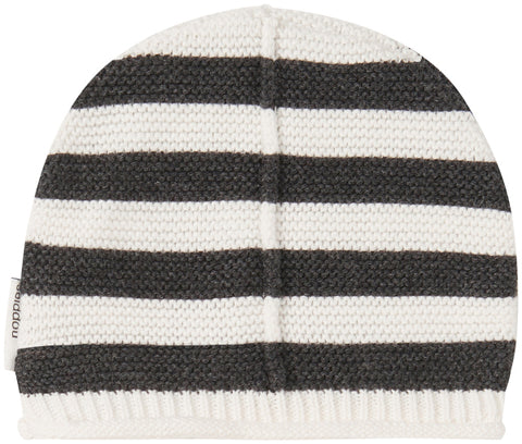 Cappello a Righe Bianco e Nero | NOPPIES | RocketBaby.it