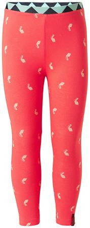 Leggings Corallo con Origami Baby e Kids