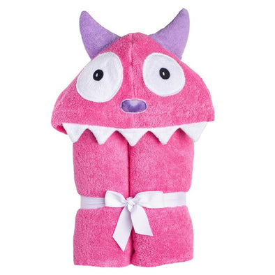 Accappatoio Bimbo Monster Pink | YIKES TWINS | RocketBaby.it