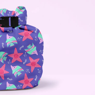 Wet Nappy Bag Portapannolini Violet | BAMBINO MIO | RocketBaby.it