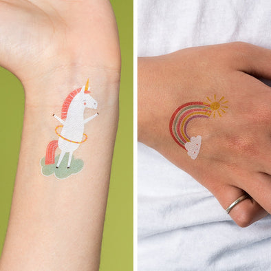 Tatuaggi Temporanei Magical Unicorn | REX LONDON | RocketBaby.it