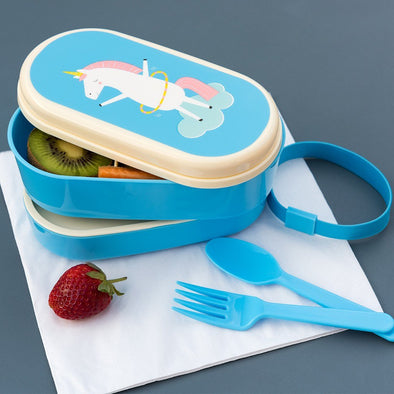 Bento Box Magical Unicorn | REX LONDON | RocketBaby.it