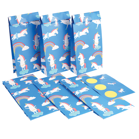 Set 6 Buste in Carta Magical Unicorn | REX LONDON | RocketBaby.it