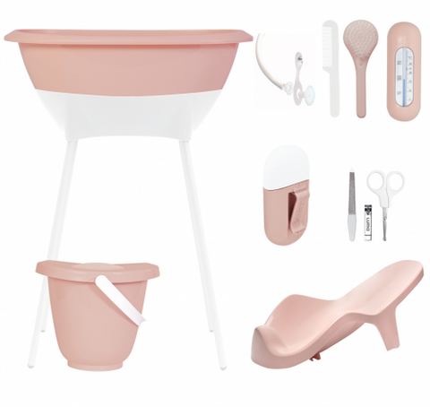 Set Bagno e Cura Completo Cloud Pink | LUMA | RocketBaby.it