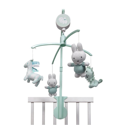 Giostrina Musicale Miffy Menta Pastello | TIAMO | RocketBaby.it
