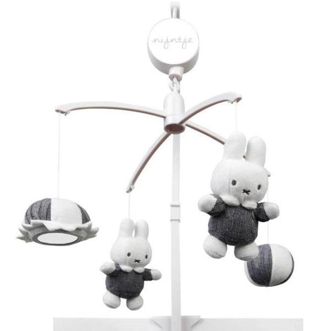 Giostrina Musicale Miffy Grigio | TIAMO | RocketBaby.it