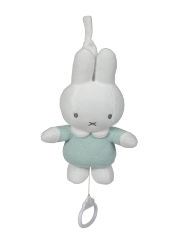 Carillon Peluche Musicale Miffy Menta | TIAMO | RocketBaby.it
