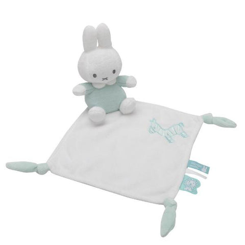 Conforter da Mordere e Stropicciare Miffy Menta | TIAMO | RocketBaby.it