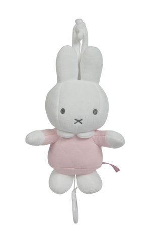Carillon Peluche Musicale Miffy Rosa | TIAMO | RocketBaby.it