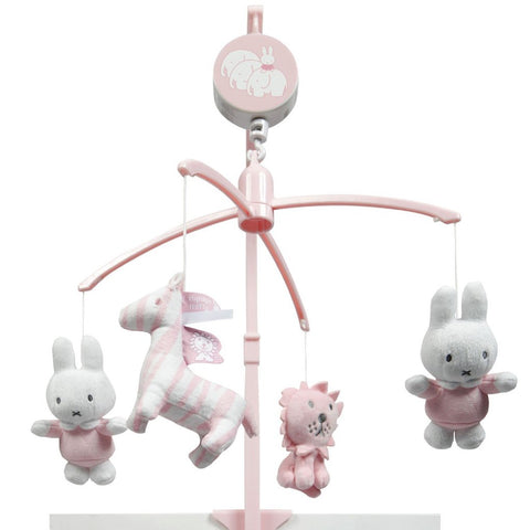 Giostrina Musicale Miffy Rosa Pastello | TIAMO | RocketBaby.it