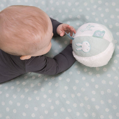 Palla Morbida Multisensoriale Miffy Menta | TIAMO | RocketBaby.it