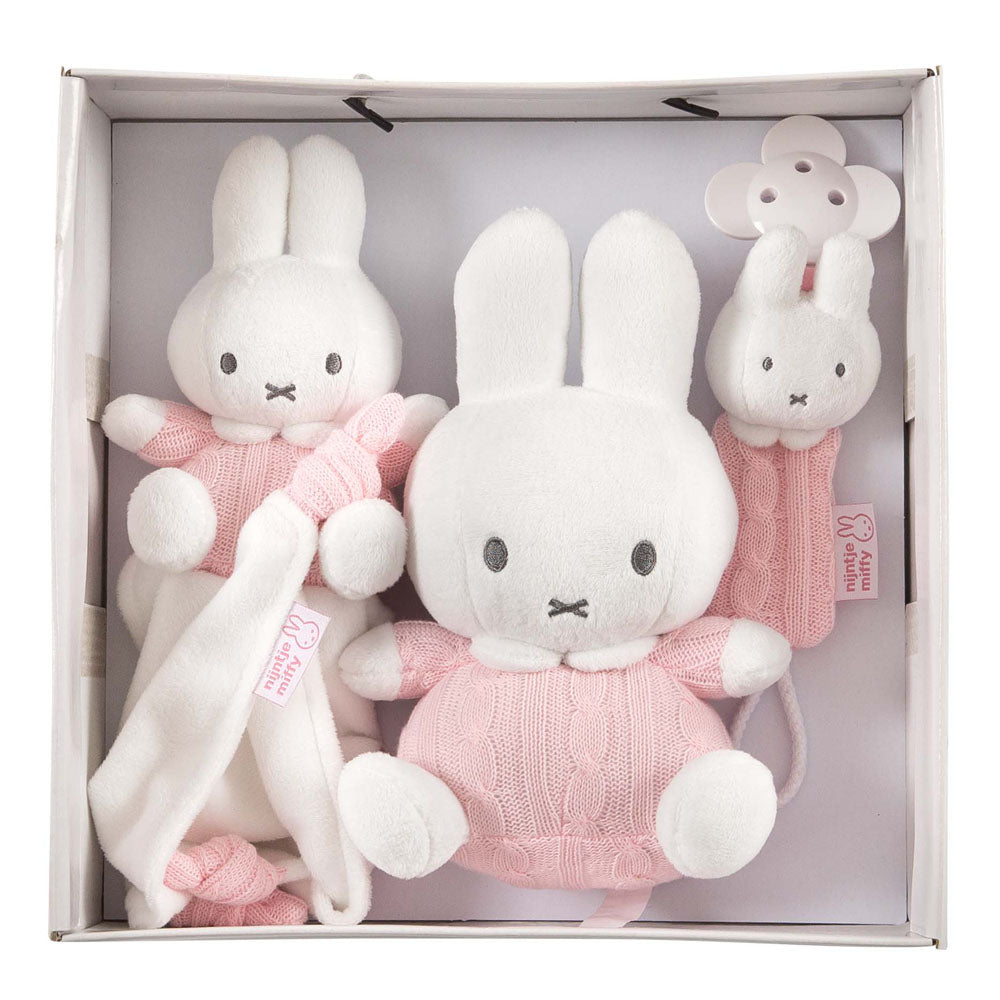 Set Regalo Miffy Rosa | TIAMO | RocketBaby.it