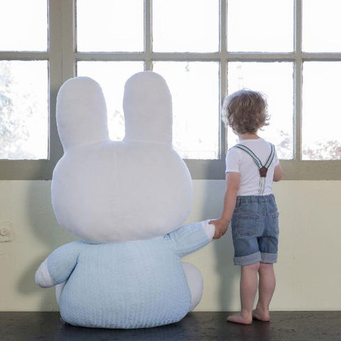 Peluche XXL Miffy Azzurro | TIAMO | RocketBaby.it