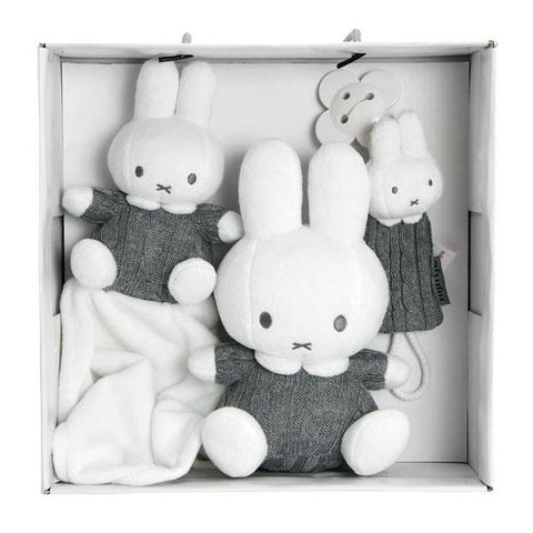 Set Regalo Miffy Grigio | TIAMO | RocketBaby.it