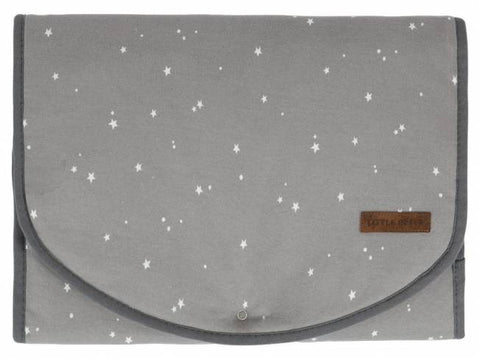 Fasciatoio Portatile Comfort Little Stars Grey | LITTLE DUTCH | RocketBaby.it