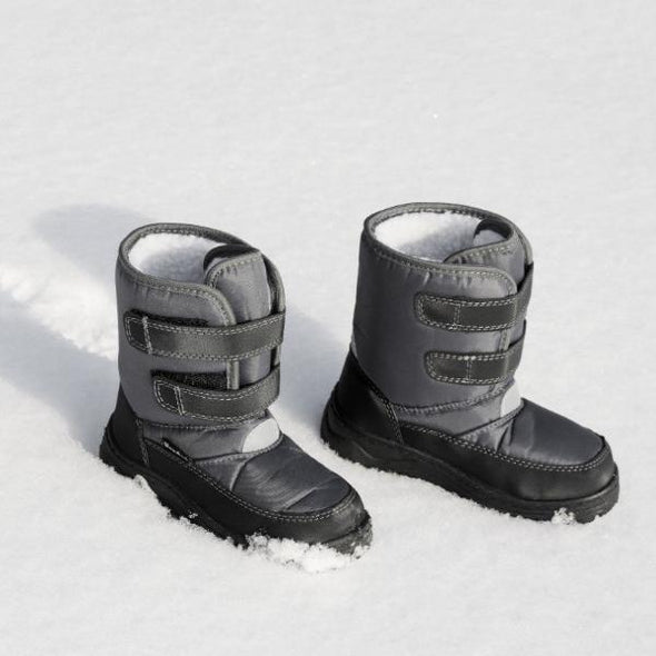Stivali da Neve con Strap Grey | PLAYSHOES | RocketBaby.it