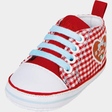 Sneaker di Tela Cuore Country Red | PLAYSHOES | RocketBaby.it