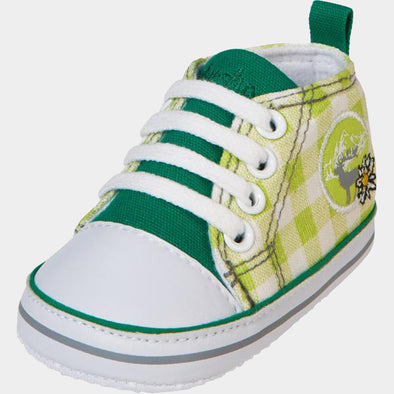 Sneaker di Tela Country House Green | PLAYSHOES | RocketBaby.it