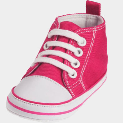 Sneaker di Tela Pink | PLAYSHOES | RocketBaby.it